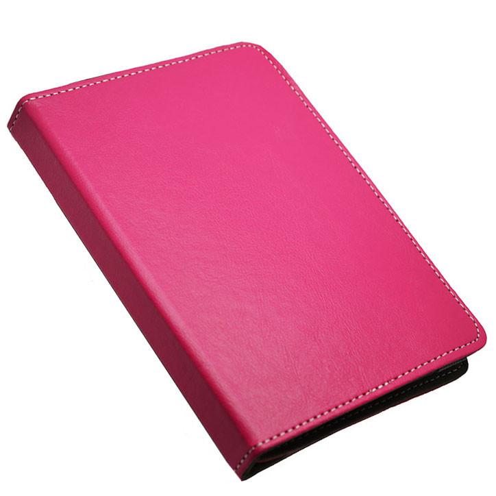 """Универсальный поворотный чехол для планшета 10 дюймов (10"""") розовый УЦЕНКА"""