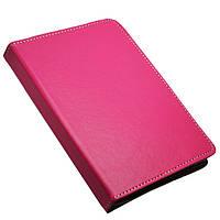 """Универсальный поворотный чехол для планшета 10 дюймов (10"""") розовый УЦЕНКА, фото 1"""