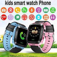 GPS Smart KIDS Watch Blue детские умные часы