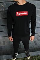 Крутой мужской спортивный костюм в стиле Supreme