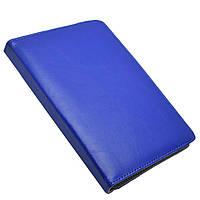 """Универсальный поворотный чехол для планшета 10 дюймов (10"""") синий УЦЕНКА, фото 1"""