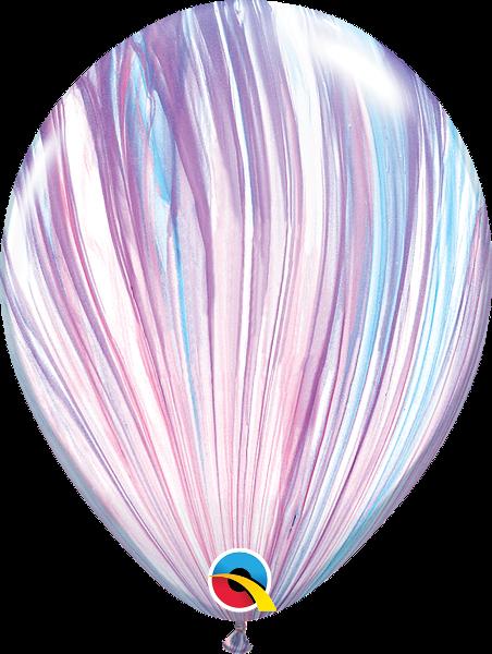 """Воздушные Шары Qualatex 11"""" (28 см), Супер Агат Fashion"""