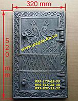 Дверка чугунная барбекю, мангал, печи, дверца Румыния №3, фото 1