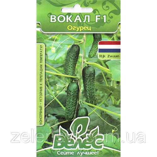 """Насіння огірка """"Вокал"""" F1 (10 насіння) від Rijk Zwaan"""