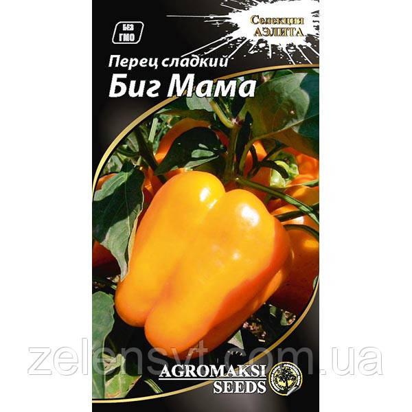 """Насіння перцю """"Біг мама"""" (0,2 г) від Agromaksi seeds"""