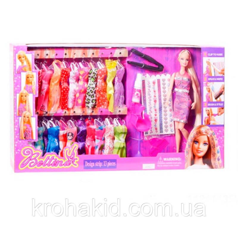 Детская кукла с нарядом и аксессуарами, шарнирная A-Toys 68152