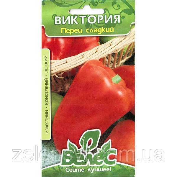 Насіння перцю «Вікторія» (0,3 г) від ТМ «Велес»