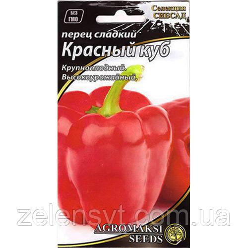 Насіння перцю «Червоний куб» (0,2 г) від Agromaksi seeds