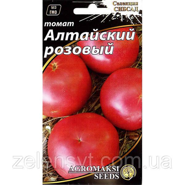 """Насіння томату """"Алтайський рожевий"""" (0,1 г) від Agromaksi seeds"""