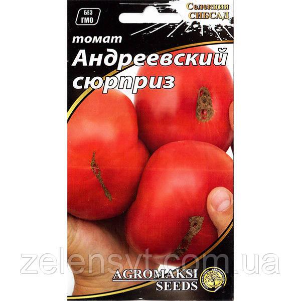 """Насіння томату """"Андріївський сюрприз"""" (0,1 г) від Agromaksi seeds"""