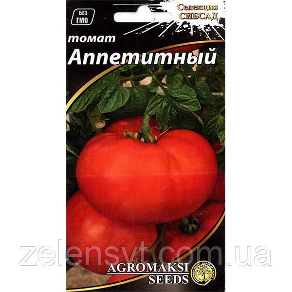 """Насіння томату """"Апетитний"""" (0,1 г) від Agromaksi seeds"""