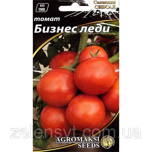 """Насіння томату """"Бізнес леді"""" (0,1 г) від Agromaksi seeds"""