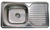 Мойка для кухни прямоугольная Galati Anka Textura. Кухонная мойка