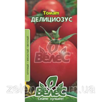 """Насіння томату """"Деліціозус"""" (0,15 г) від ТМ """"Велес"""""""