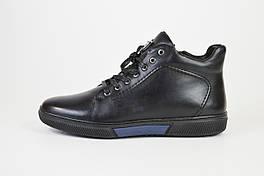 Ботинки кожа Kadar 3283624 черные мех