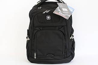 """Универсальный городской рюкзак для ноутбука с USB """"Suissewin"""" 9923"""