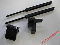 Ремкомплект Бардачок ВАЗ 2112  замок - тяга 2шт и клавиша крышки бардачка 2шт вещевого перчаточного ящика