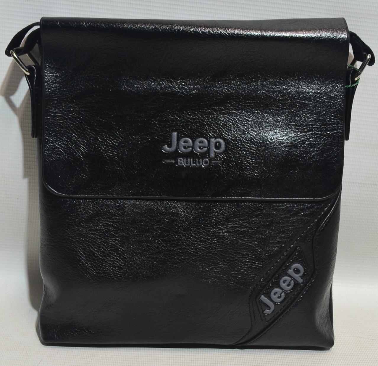 "Мужская сумка-планшет из кожзама ""Jeep"" 1009"