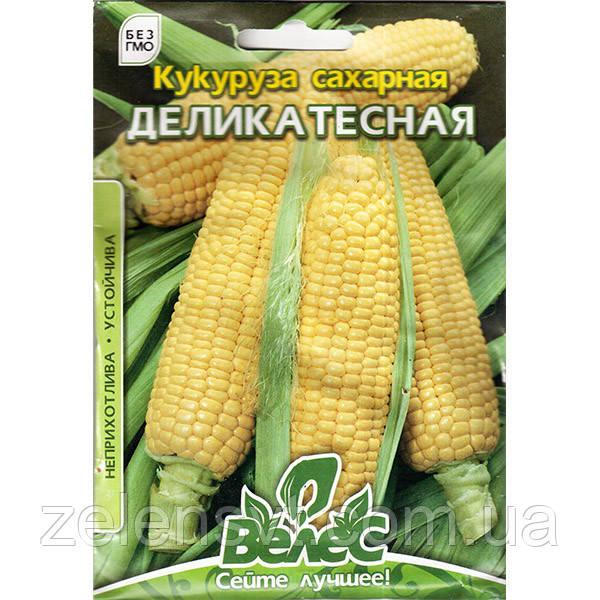 """Насіння кукурудзи """"Делікатесна"""" (30 г) від ТМ """"Велес"""""""