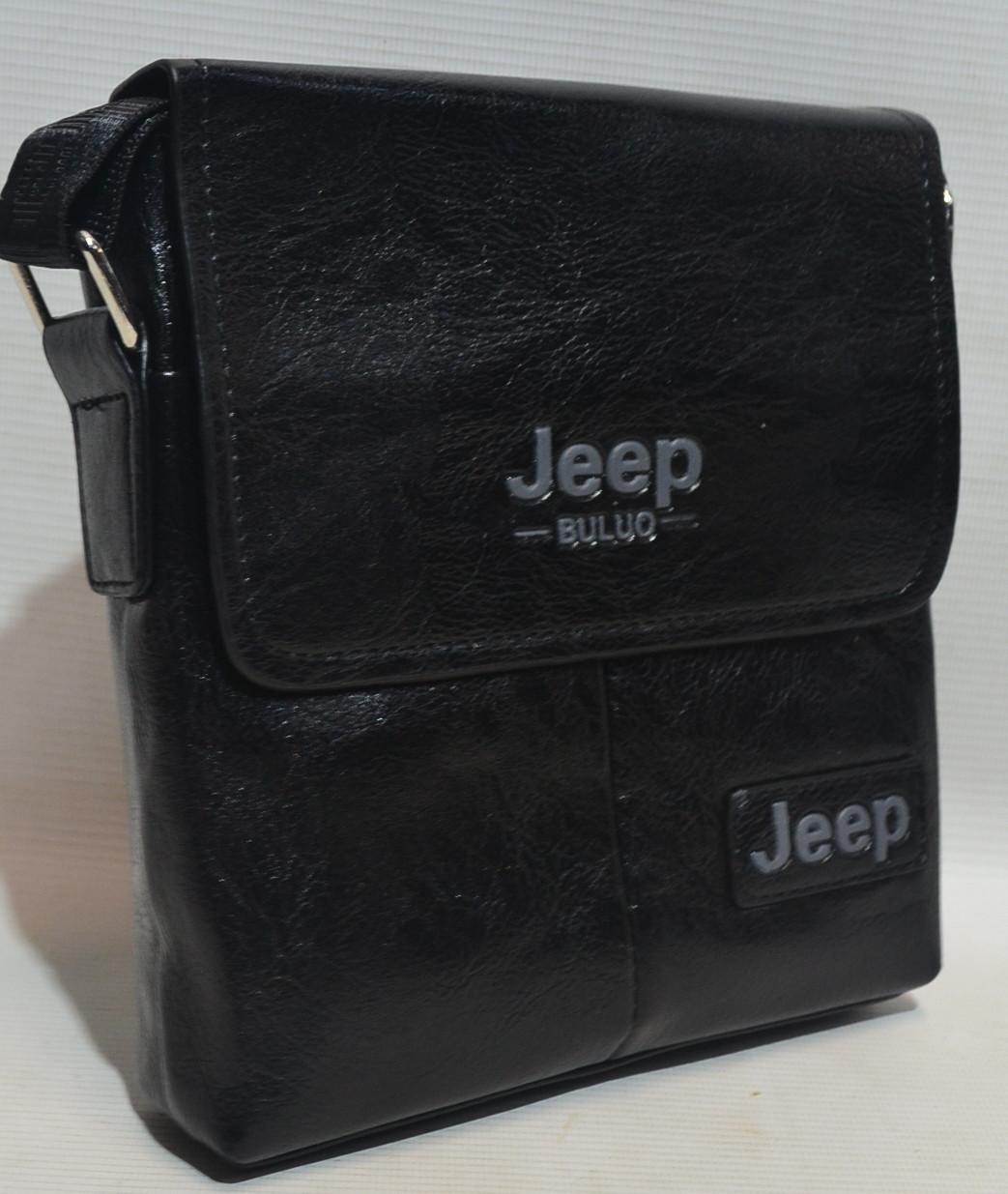 "Сумка-планшет через плечо из кожзама ""Jeep"" 2006"