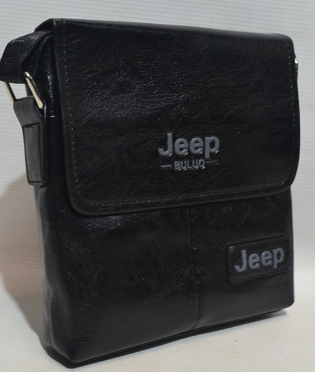 "Сумка-планшет через плечо из кожзама ""Jeep"