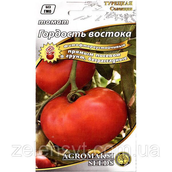 """Насіння томату """"Гордість сходу"""" (0,4 г) від Agromaksi seeds"""