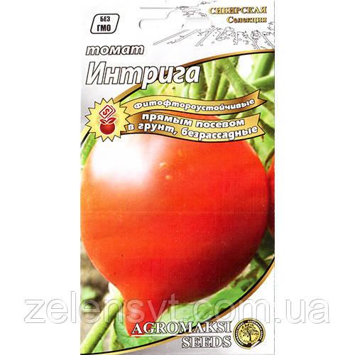 """Насіння томату """"Інтрига"""" (0,4 г) від Agromaksi seeds"""