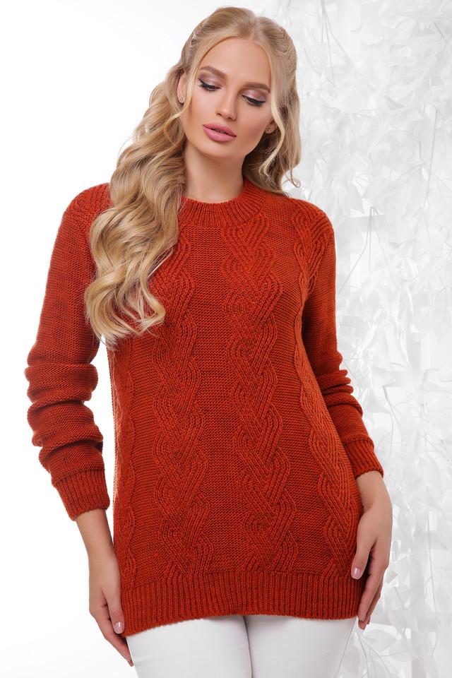 Фото Женского шерстяного свитера Линда-1 батал