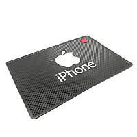 Автомобильный коврик липучка Iphone