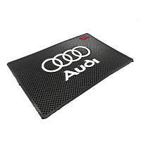 Автомобильный коврик липучка Audi
