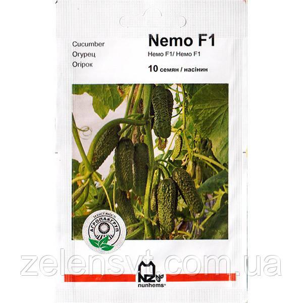 """Насіння огірка """"Немо"""" F1 (10 насіння) від Nunhems"""