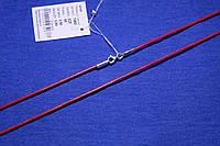 Шнурок с серебряной застежкой 45 см 1463к