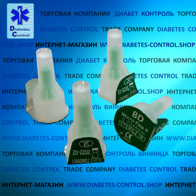 Иглы 4 мм для инсулиновых шприц-ручек Microfine / Микрофайн универсальные 10 шт.