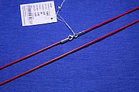 Шнурок на шею с серебряной застежкой 50 см 1463к