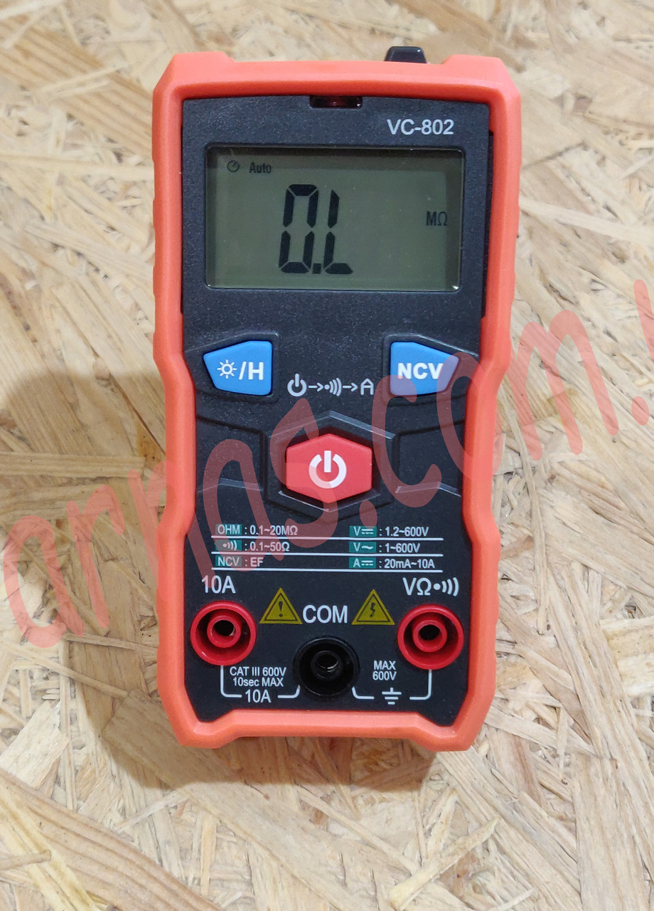Мультиметр (тестер) VC-802 цифровой