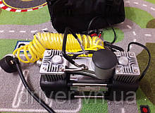 Автокомпресор ELEGANT, 2х поршневий, 10Amp/60л.