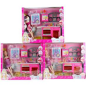 """Игровой набор """"Роскошная кухня"""" с куклой 86102 (звук, свет, кукла 27см), фото 2"""