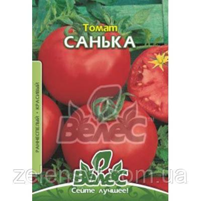 """Насіння томату """"Санька"""" (0,3 / 1,5 г) від ТМ """"Велес"""""""