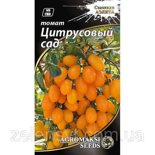 """Насіння томату """"Цитрусовий сад"""" (0,1 г) від Agromaksi seeds"""
