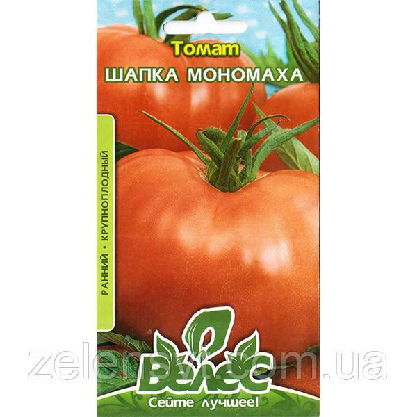 """Насіння томату """"Шапка Мономаха"""" (0,15 г) від ТМ """"Велес"""""""