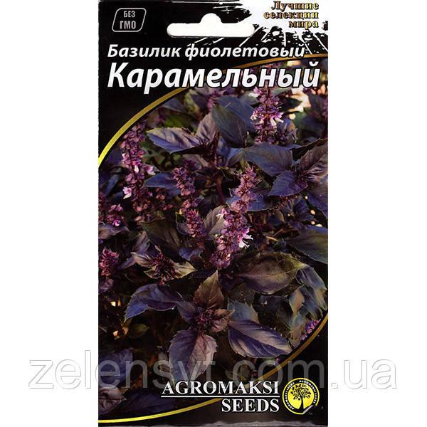 """Насіння базиліка """"Карамельний"""" (0,3 г) від Agromaksi seeds"""