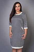 Женское платье из атласа с карманами, фото 2