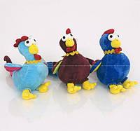 Мягкая игрушка 0146 Петух 27см, 4 цвета,, 10 шт в упаковке - 220356