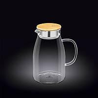 Кувшин Wilmax  с крышкой 1,5л стекло (888215 WL)