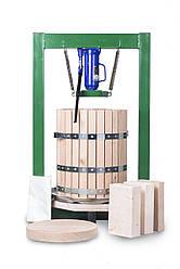 Прессы для отжима винограда 50л с домкратом, давление 10 тон, гидравлический. Для яблок, винограда, сыра и тд.