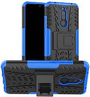 Чехол Armor для Xiaomi Redmi 8A бампер противоударный оригинальный синий