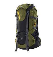 Туристический рюкзак 60 л Onepolar Liger 1616 зелёный