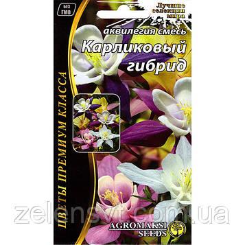 """Насіння аквилегии """"Карликовий гібрид"""" (0,2 г) від Agromaksi seeds"""