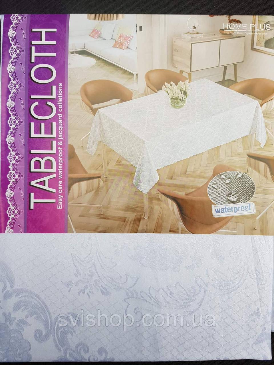 Скатерть для стола тефлоновая 152х220см.