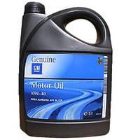 Моторное масло бензин, дизель 10W-40 (General Motors) 5л. 1942046